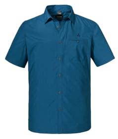 Shirt Bregenzerwald Chemise à manches courtes pour homme Schöffel 465771604842 Couleur bleu azur Taille 48 Photo no. 1