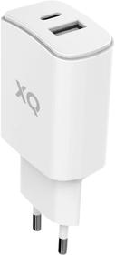 Travel Charger Dual USB-A /USB-C PD EU Chargeur XQISIT 798647700000 Photo no. 1