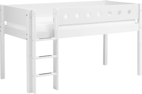 WHITE Lit mi-hauteur Flexa 404912100000 Dimensions L: 109.0 cm x P: 210.0 cm x H: 120.0 cm Couleur Blanc Photo no. 1