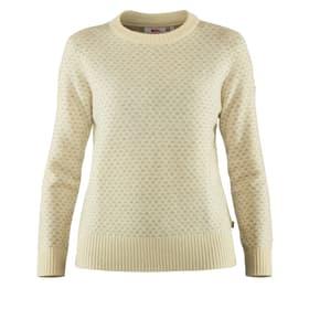 Övik Nordic Sweater Pullover femmes Fjällräven 465800700213 Taille XS Couleur écru 2 Photo no. 1