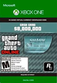 Xbox One - Grand Theft Auto V: Megalodon Shark Card Download (ESD) 785300135620 Photo no. 1