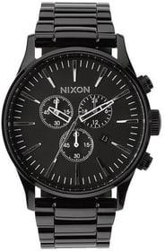 Sentry Chrono All Black 42 mm Orologio da polso Nixon 785300136972 N. figura 1