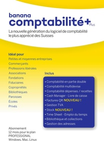 Banana Comptabilité Plus [PC/Mac/Linux] (F) Software banana 785300154813 Photo no. 1