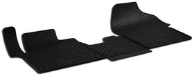 Set de tapis en caoutchouc TOYOTA Tapis de voiture WALSER 620595200000 Photo no. 1