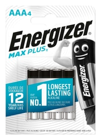 MaxPlus AAA 4 pcs. Piles Energizer 704769400000 Photo no. 1