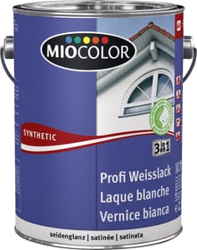 Vernice sintetica bianca Profi Bianco 2.5 l Miocolor 661442700000 Colore Bianco Contenuto 2.5 l N. figura 1