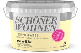 Trend Wandfarbe matt Vanilla 1 l Schöner Wohnen 660962400000 Farbe Vanilla Inhalt 1.0 l Bild Nr. 1