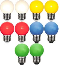 RGB Set à 10 pièces Ampoule LED Star Trading 613216500000 Photo no. 1