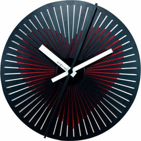 Horloge Murale Diamètre Coeur Kinegram Horologe murale NexTime 785300140004 Photo no. 1