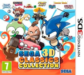 3DS - Sega 3D Classics Collection I Box 785300121944 Bild Nr. 1