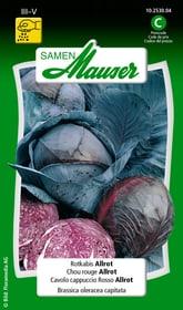Cavolo capp.rosso Allrot Sementi di verdura Samen Mauser 650114301000 Contenuto 1 g (ca. 80 - 100 piante o 15 m²) N. figura 1