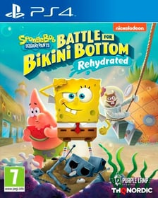 Spongebob SquarePants: Battle for Bikini Bottom - Rehydrated Box 785300152464 Langue Allemand Plate-forme Sony PlayStation 4 Photo no. 1