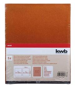 Schleifbogen Flint K 80, 5 Stk. kwb 610551000000 Bild Nr. 1