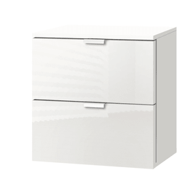 ORSON Commode 404478800000 Dimensions L: 40.0 cm x P: 42.0 cm x H: 42.0 cm Couleur Blanc brillant Photo no. 1
