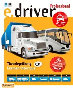 e.driver Professional V1.0 - 700 Fragen [Kat. C/CE/C1/D/DE/D1] [PC/Mac] (D/F) Fisico (Box) e.driver 785300134830 N. figura 1