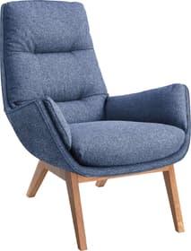 ANDRES Poltrona 402473507040 Dimensioni L: 83.0 cm x P: 94.0 cm x A: 97.0 cm Colore Blu N. figura 1