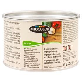 Arbeitsplatten-Imprägnierung Farblos 250 g Holzöle + Holzwachse Miocolor 661284200000 Bild Nr. 1