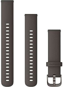 18mm Braccialetto a cambio rapido color grafite con fibbia in grigio ardesia Braccialetto Garmin 785300159879 N. figura 1