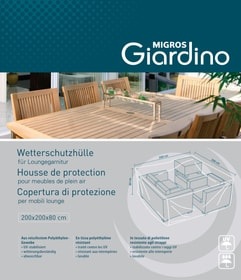 Housse de protection pour salon de plein air