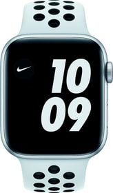 Watch Nike SE LTE 44mm Silver Aluminium Pure Platinum/Black Nike Sport Band Smartwatch Apple 785300155530 Bild Nr. 1