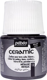 PÉBÉO Ceramic Keramikmalfarbe 13 Metallic 45ml Pebeo 663510001900 Farbe Metallic Bild Nr. 1