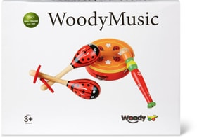 Woody Musikset aus Holz (FSC®) Musik 746389800000 Bild Nr. 1