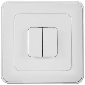 UP S1(3+3) Interrupteur à poussoir Mica for you 612135200000 Photo no. 1