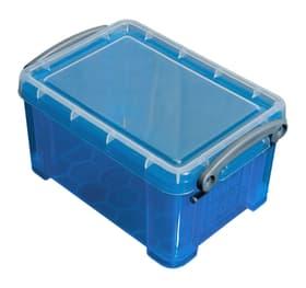 Ordnungsbox 0.7L Aufbewahrungsbox Really Useful Box 603731100000 Grösse L: 15.5 cm x B: 10.0 cm x H: 8.0 cm Farbe Blau Bild Nr. 1