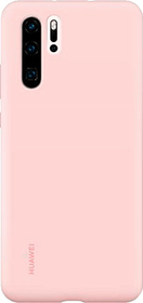 Hard-Cover Silicone Case pink Hülle Huawei 785300143389 Bild Nr. 1