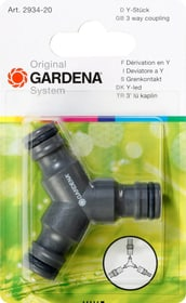 Original GARDENA System Y-Stück Gardena 630411800000 Bild Nr. 1