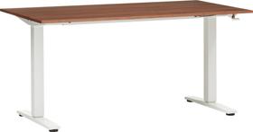 FLEXCUBE ECCO Table réglable en hauteur 401905700000 Dimensions L: 140.0 cm x P: 80.0 cm x H: 73.0 cm Couleur Noyer Photo no. 1