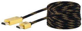 Kabel HDMI slim 5m gold Schwaiger 613180800000 Bild Nr. 1