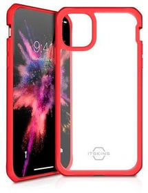 Hard Cover HYBRID SOLID plain red transparent Hülle ITSKINS 785300149476 Bild Nr. 1