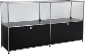 FLEXCUBE Sideboard 401814120220 Grösse B: 152.0 cm x T: 40.0 cm x H: 80.5 cm Farbe Schwarz Bild Nr. 1