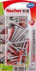 DUOPOWER 6 x 30 inkl. Schrauben Universaldübel fischer 605439800000 Bild Nr. 1