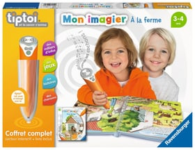 Tiptoi Set complet Livre Ferme (F) Giochi educativi Ravensburger 745236490100 Lingua Francese N. figura 1
