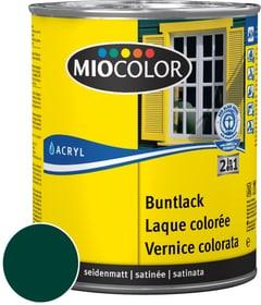Acryl Vernice colorata satinata Verde muschio 750 ml Acryl Vernice colorata Miocolor 660554300000 Colore Verde muschio Contenuto 750.0 ml N. figura 1
