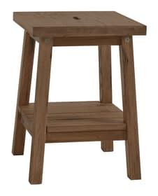 LUDO Table de chevet HASENA 403531985029 Dimensions L: 40.0 cm x P: 40.0 cm x H: 55.0 cm Couleur Chêne sauvage coffee Photo no. 1