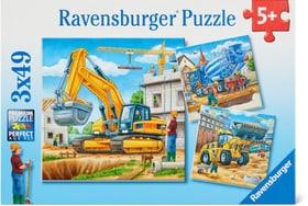 Grosse Baufahrzeuge Puzzle Puzzle Ravensburger 748977400000 Bild Nr. 1