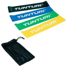 Widerstand Bänderset Gymnastikband Tunturi 463034600000 Bild-Nr. 1
