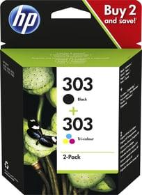 multipack 303 Black e Tri-colour cartucce d'inchiostro HP 798555500000 N. figura 1