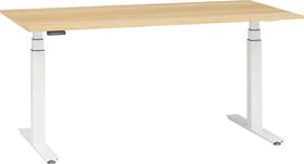 FLEXCUBE PROFI Scrivania 401887100000 Dimensioni L: 180.0 cm x P: 80.0 cm x A: 67.0 cm Colore quercia chiara N. figura 1