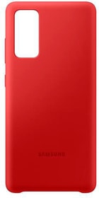 Silicone Cover Red Galaxy S20 FE Hülle Samsung 785300155726 Bild Nr. 1