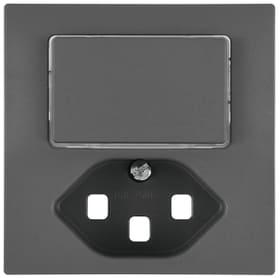 Edizio Due UP Combinazione piccola 1xT23 Set di copertura Feller 612190400000 N. figura 1