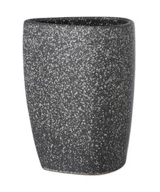 Keramik Zahnputzbecher Pion grau WENKO 674073600000 Bild Nr. 1