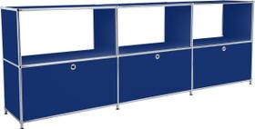 FLEXCUBE Sideboard 401814630240 Grösse B: 227.0 cm x T: 40.0 cm x H: 80.5 cm Farbe Blau Bild Nr. 1