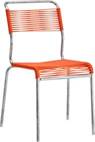 SÄNTIS Chaise Schaffner 408009600057 Couleur Orange Dimensions L: 40.0 cm x P: 52.0 cm x H: 84.0 cm Photo no. 1