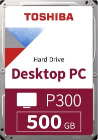 "P300 High Performance 500GB 3.5"" SATA HDD Intern Toshiba 785300137541 Bild Nr. 1"
