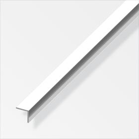 Winkel-Profil gleichschenklig 1 x 20 x 10 mm chrom-optik 1 m alfer 605140500000 Bild Nr. 1