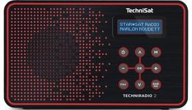 TechniRadio 2 - Noir/Rouge Radio DAB+ Technisat 785300139513 Photo no. 1